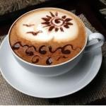 рисунок на кофе