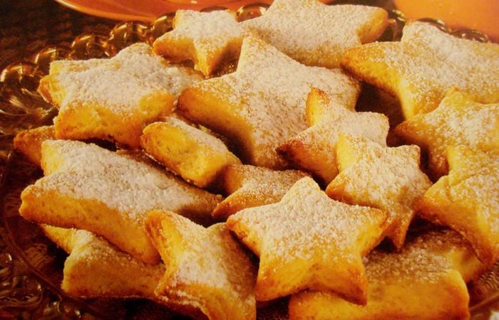 Печенье песочное звездочки