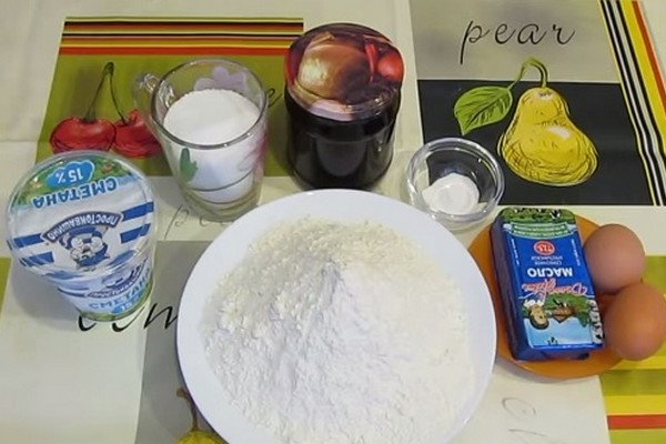 печенье с вареньем домашнее рецепт