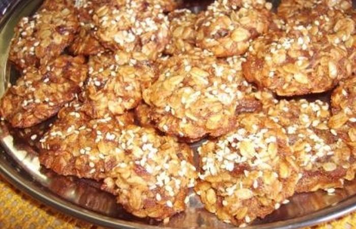 Печенье из хлопьев геркулес рецепт с фото