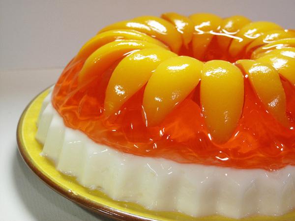 Желе красивый и полезный десерт