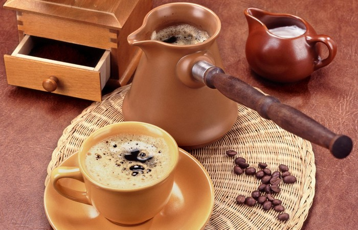 Приготовить кофе эспрессо