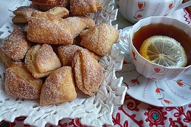 Творожное печенье треугольнички