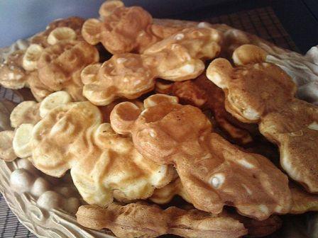 рецепты печенья фигурного в газавой форме