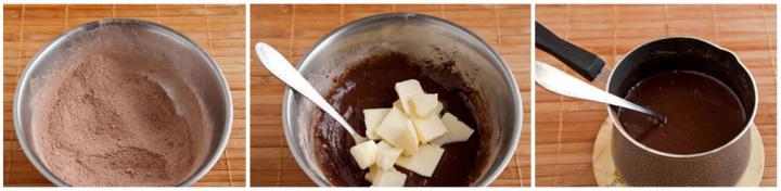 Как сделать шоколадную глазурь из сгущенки