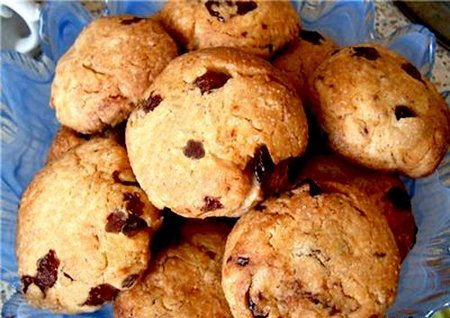 Калорийность овсяного печенья с изюмом