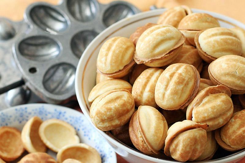 орешки с сгущенкой рецепт с фото