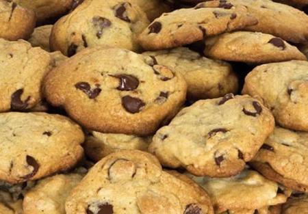 Печенье с шоколадными крошками