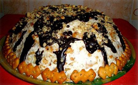 Торт муравейник шоколадный