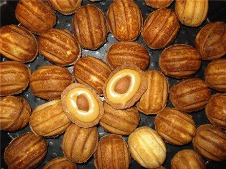 печенье орешки рецепт на газу