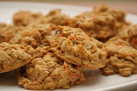 рецепт морковного печенья с сухофруктами