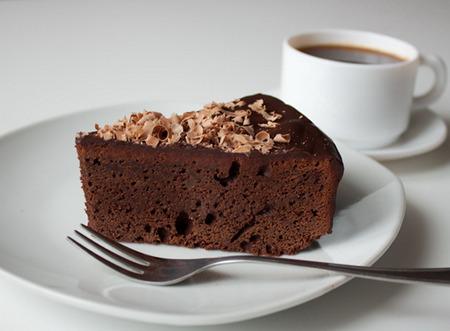 Пирог с какао на быструю руку