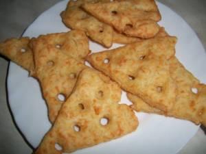 Печенье с беконом
