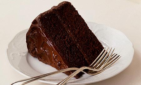 Быстрый пирог с какао