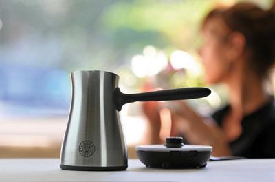 Электрическая кофеварка турка