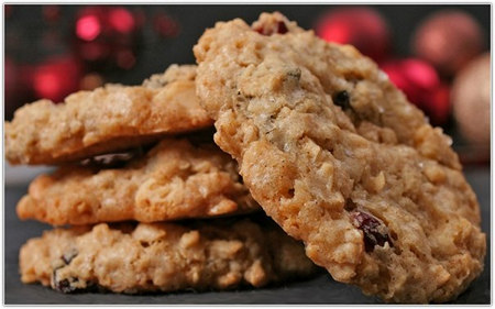 Диетическое печенье с яблоками
