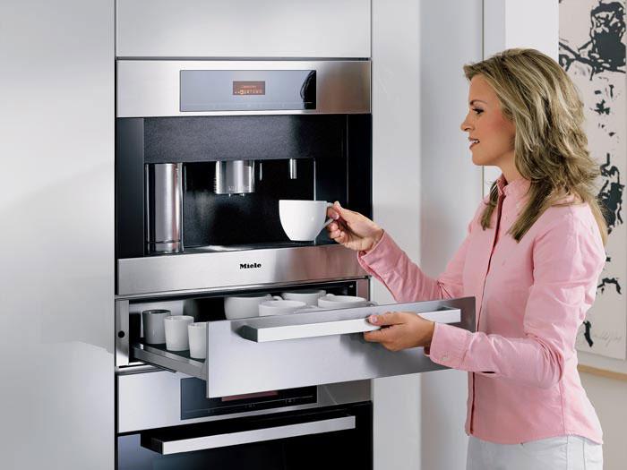 Встраиваемая кофемашина для дома