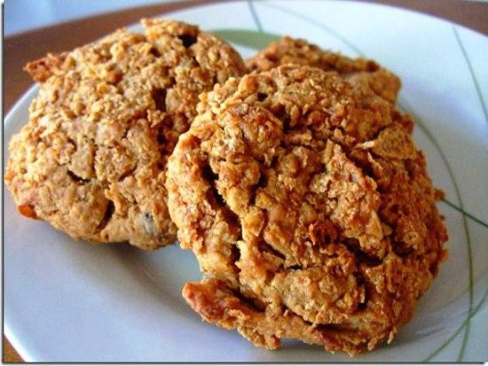Печенье из отрубей - рецепт пошаговый с фото