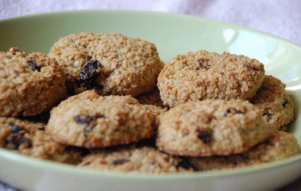 Диетические печенья с добавлением отрубей
