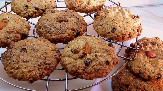 овсяное печенье из овсяных хлопьев постное рецепт с фото пошагово