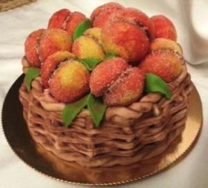 печенье персики пошаговый рецепт