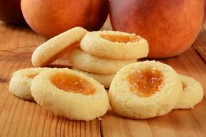 печенье персики рецепт