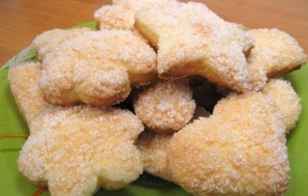 Сахарное печенье