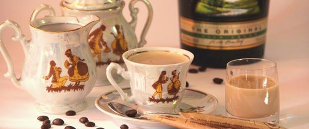 Кофе с ликером
