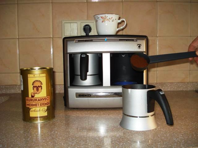 Засыпаем кофе