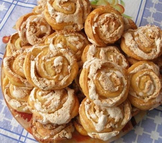 Творожное печеьне