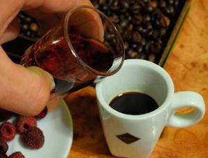 Кофе с ромом