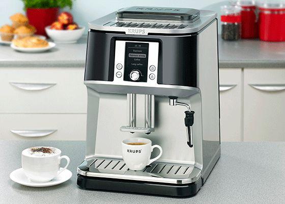 Эспрессо кофеварка Krups