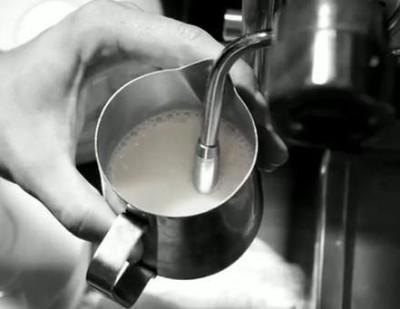 Приготовление капучино