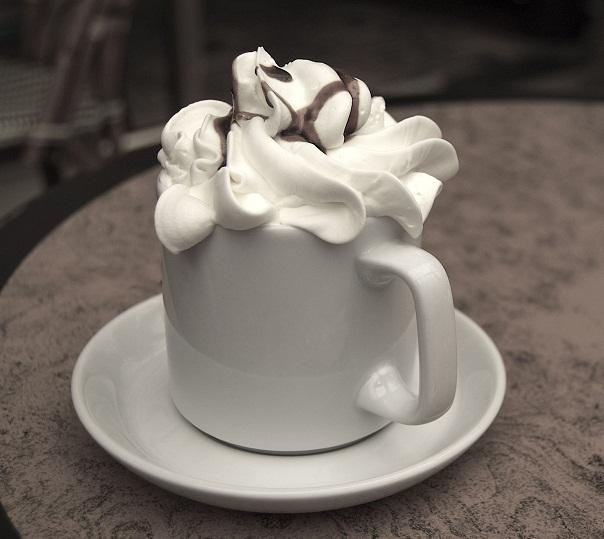 Кофе-айс с корицей