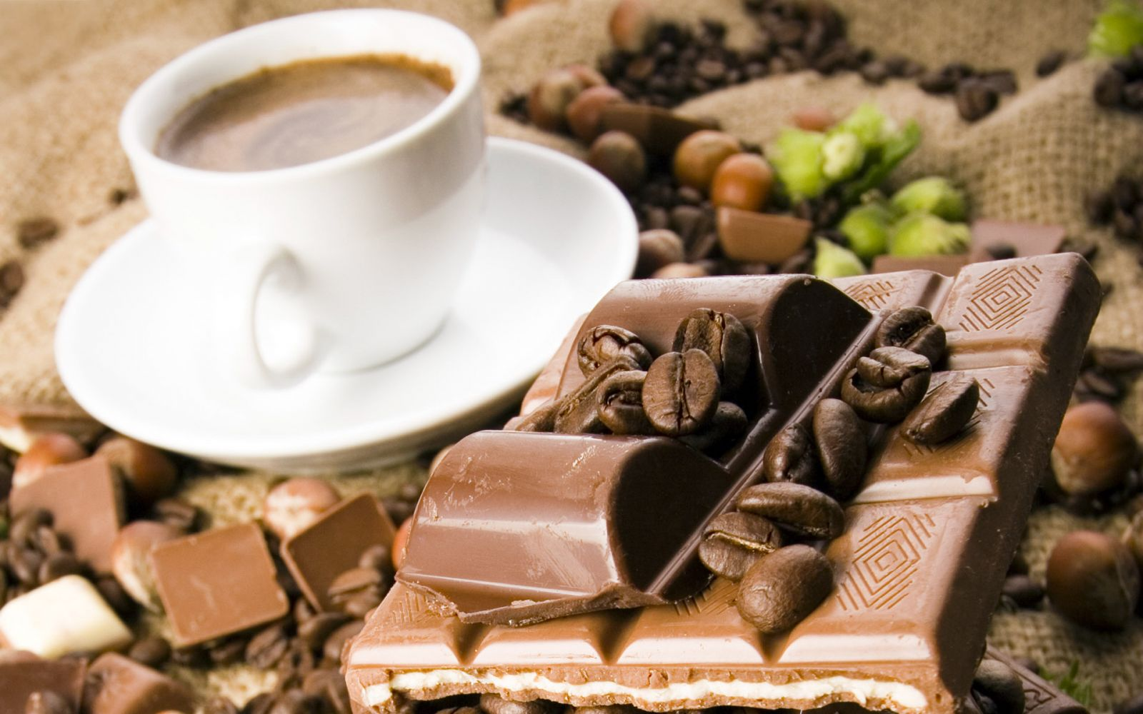 Кофе и шоколад при диете