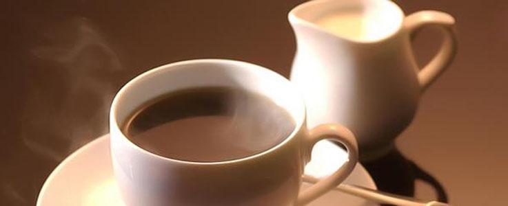Напиток кофе с молоком
