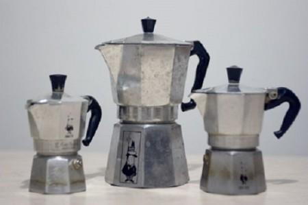 Перввые гейзерные кофеварки