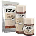 Today Pure Arabica растворимый кофе