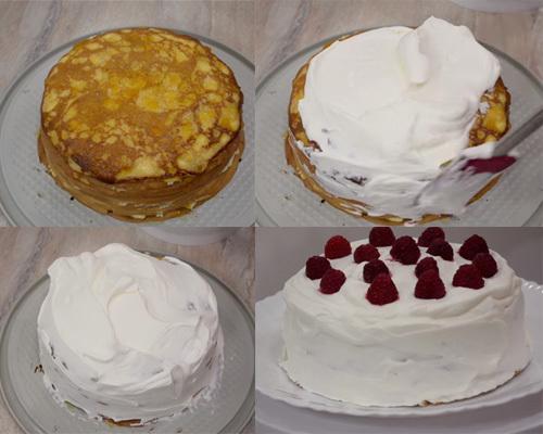 Торт и блинов