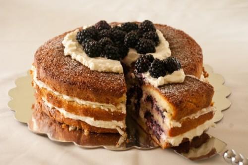 Торт с кремом маскарпоне