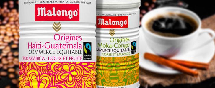 Кофе в зернах Malongo