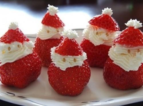 Фруктовый десерт с кремом