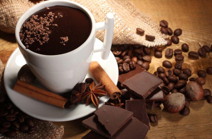 Кофейно-шоколадный напиток по-бразильски