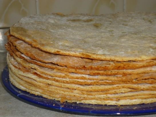 медовик рецепт со сметанным кремом