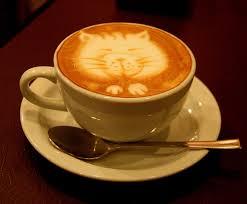 кофе с молоком эффект
