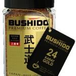 кофе бушидо с золотом