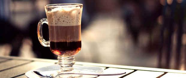 Кофе с сливками