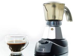 гейзерная кофеварка электрическа