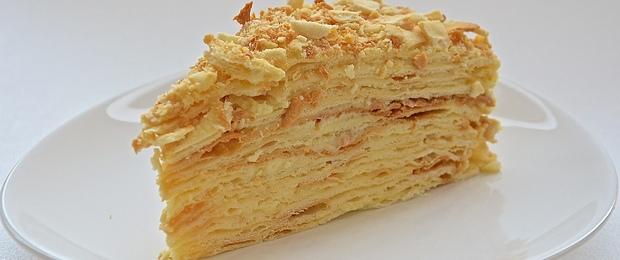 Секретный рецепт торта Наполеон с заварным кремом