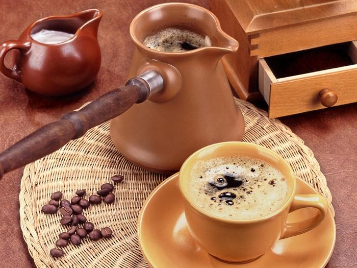 рецепты приготовления кофе в турку